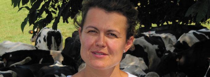 Portrait d'éleveurs en Bretagne : Delphine Mace