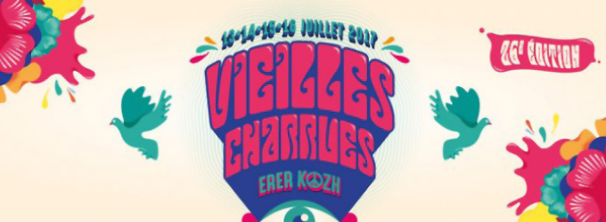 affiche Festival des vieilles charrues 2017