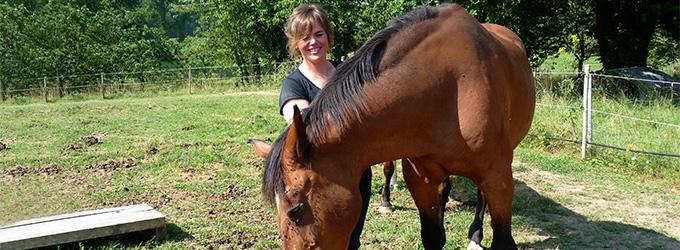 Nolwenn Fonnier, éleveuse de chevaux