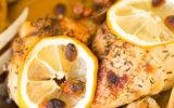 Poulet à la crème de citron, la recette de Simon